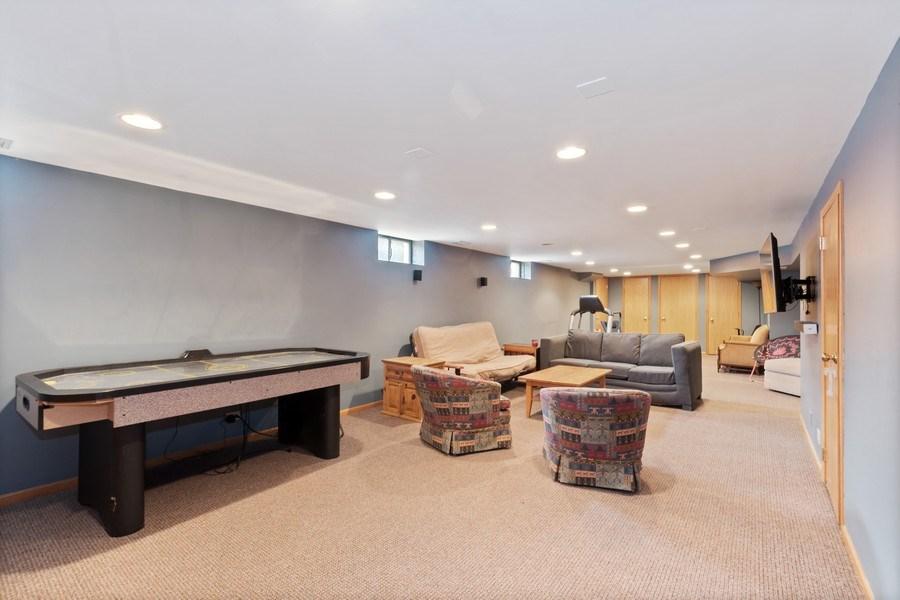 Real Estate Photography - 1238 Glencoe Avenue, Highland Park, IL, 60035 - Recreation Room
