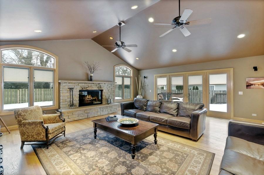 Real Estate Photography - 1238 Glencoe Avenue, Highland Park, IL, 60035 - Family Room