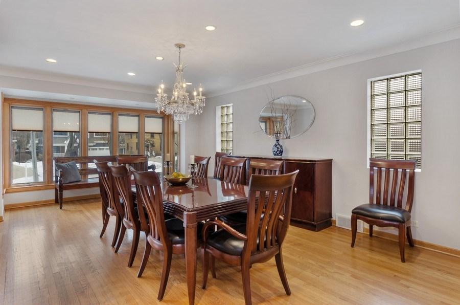 Real Estate Photography - 1238 Glencoe Avenue, Highland Park, IL, 60035 - Dining Room