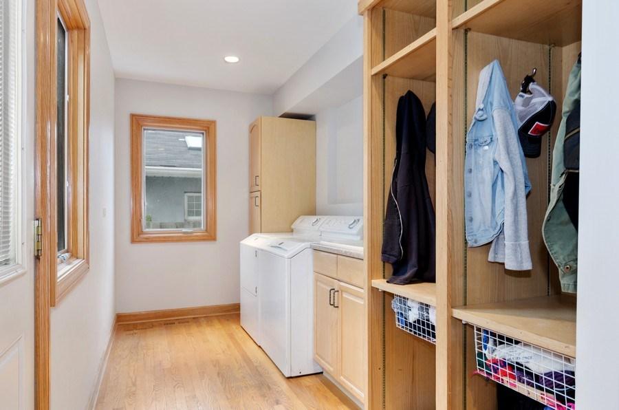 Real Estate Photography - 1238 Glencoe Avenue, Highland Park, IL, 60035 - Laundry Room