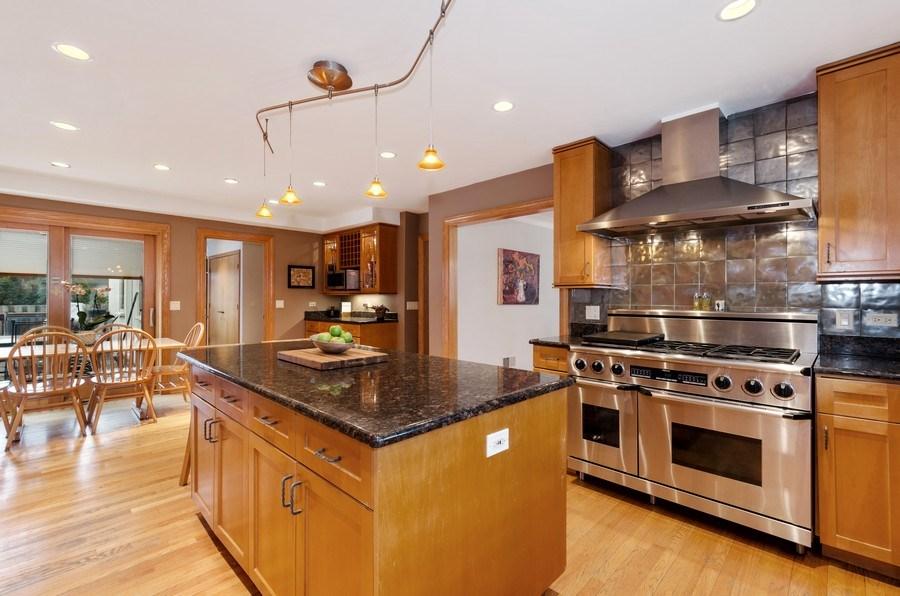 Real Estate Photography - 1238 Glencoe Avenue, Highland Park, IL, 60035 - Kitchen