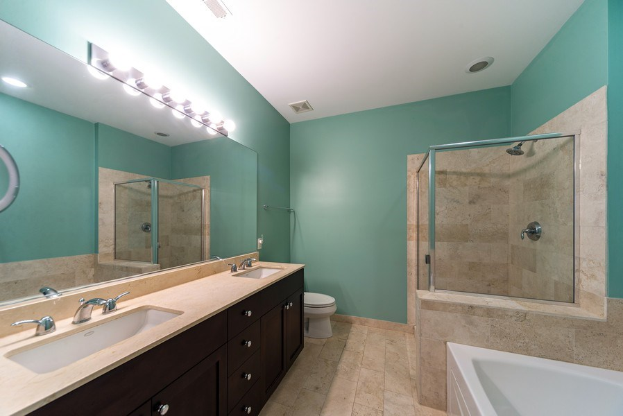 Real Estate Photography - 4420 N. Clark, #305, Chicago, IL, 60640 - Master Bathroom