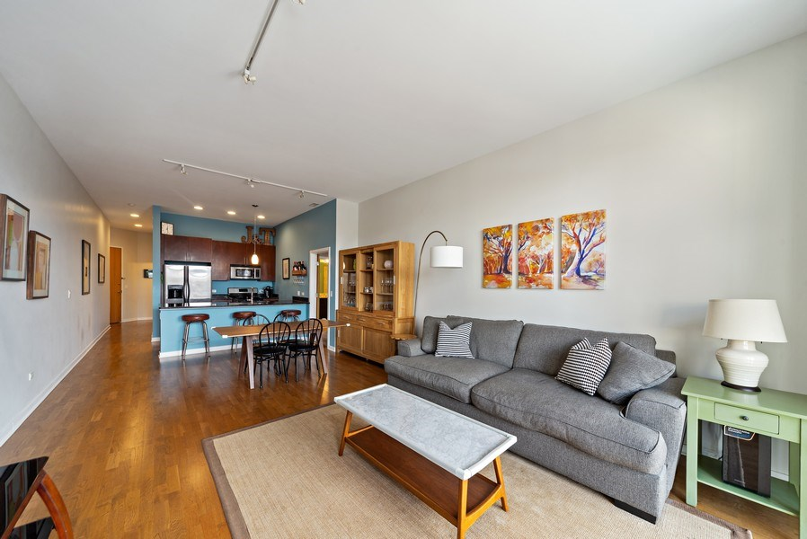 Real Estate Photography - 4420 N. Clark, #305, Chicago, IL, 60640 - Living Areas