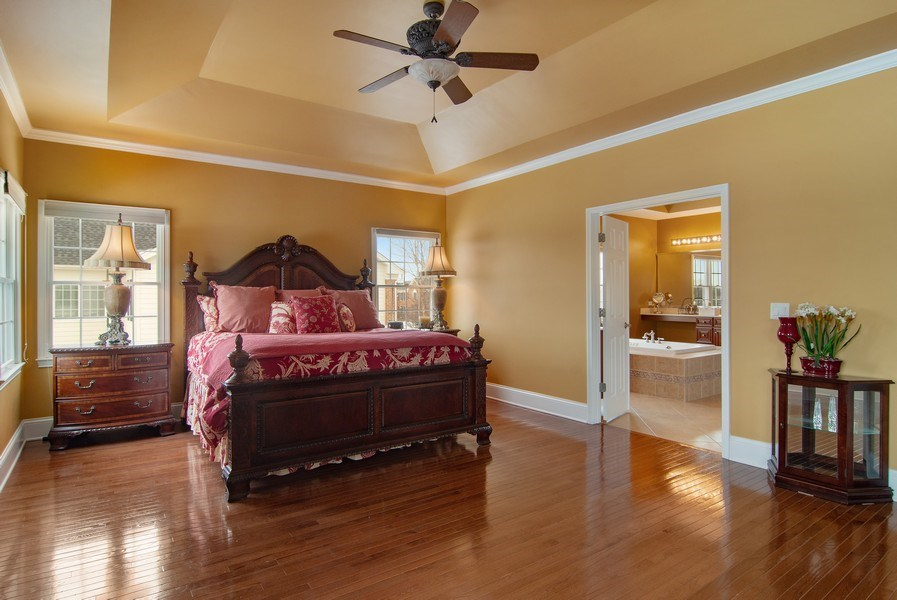 Real Estate Photography - 20 Doral Drive, Hawthorn Woods, IL, 60047 - Master Bedroom