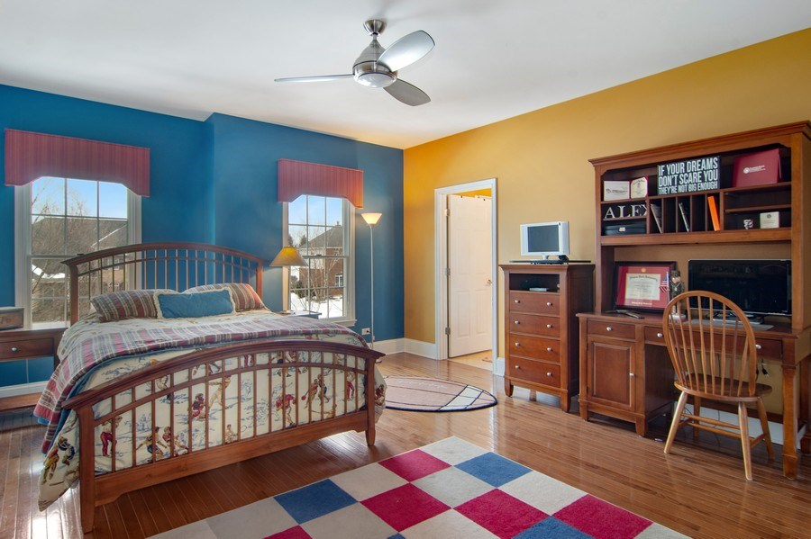 Real Estate Photography - 20 Doral Drive, Hawthorn Woods, IL, 60047 - 3rd Bedroom