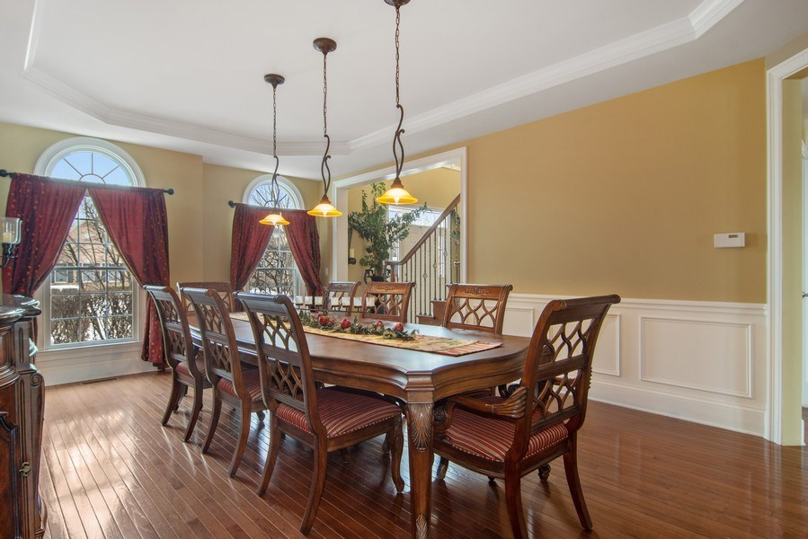 Real Estate Photography - 20 Doral Drive, Hawthorn Woods, IL, 60047 - Dining Room