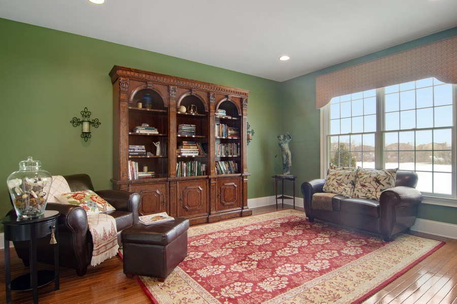 Real Estate Photography - 20 Doral Drive, Hawthorn Woods, IL, 60047 - Study