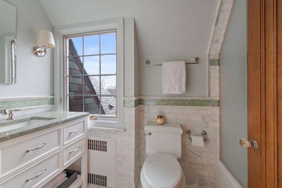 Real Estate Photography - 1200 Spruce, Winnetka, IL, 60093 - 3rd Bathroom
