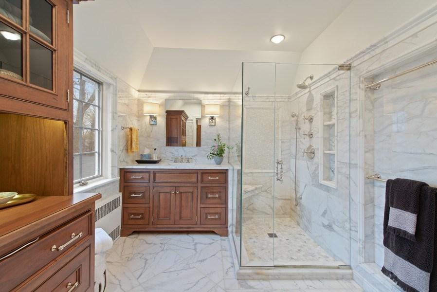 Real Estate Photography - 1200 Spruce, Winnetka, IL, 60093 - Master Bathroom