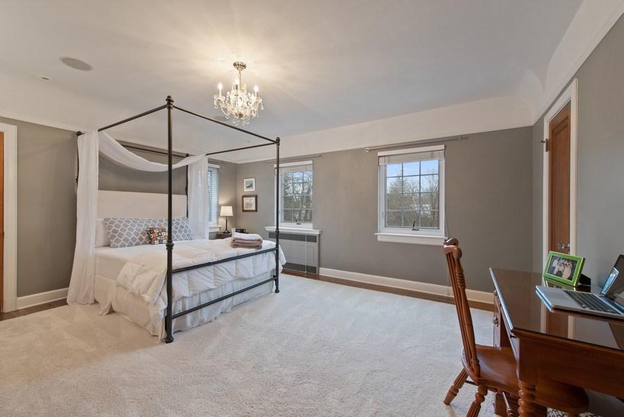 Real Estate Photography - 1200 Spruce, Winnetka, IL, 60093 - Bedroom