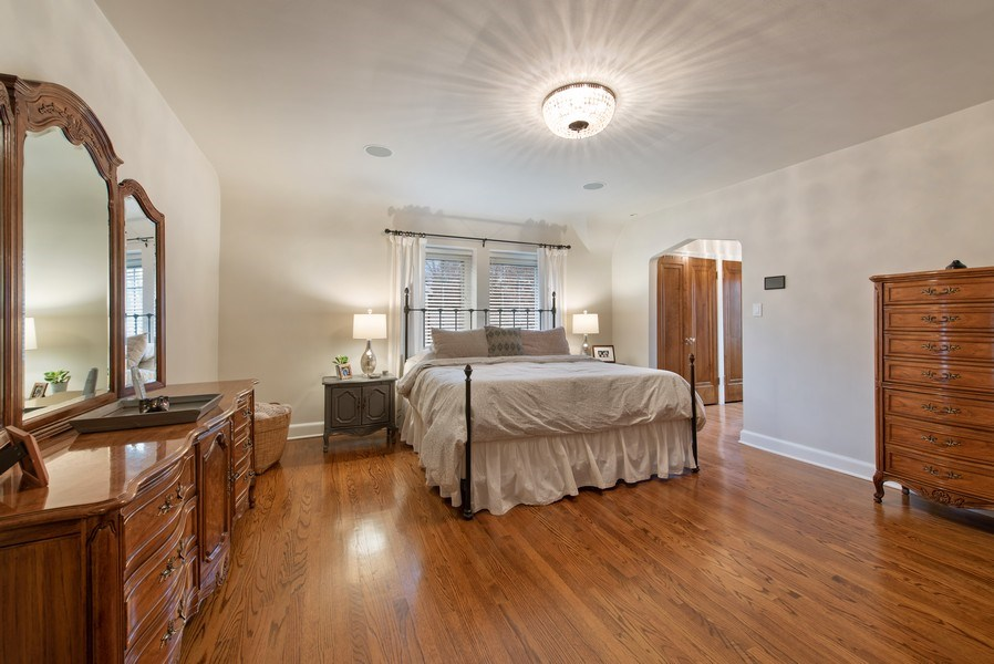 Real Estate Photography - 1200 Spruce, Winnetka, IL, 60093 - Master Bedroom