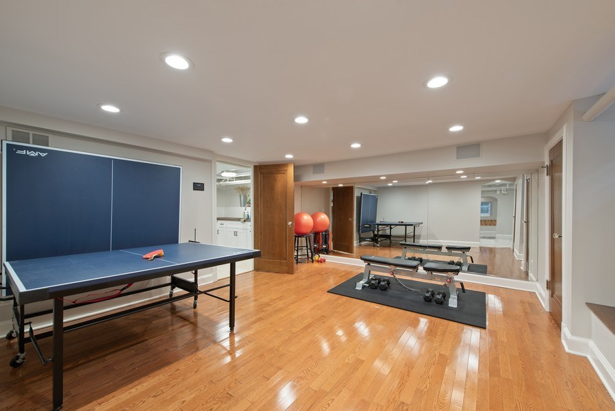 Real Estate Photography - 1200 Spruce, Winnetka, IL, 60093 - Exercise Room