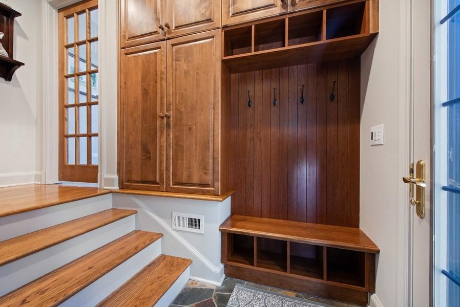 Real Estate Photography - 1200 Spruce, Winnetka, IL, 60093 - Mudroom