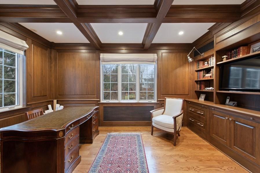 Real Estate Photography - 1200 Spruce, Winnetka, IL, 60093 - Office