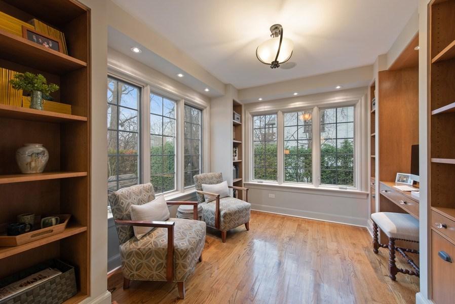 Real Estate Photography - 1200 Spruce, Winnetka, IL, 60093 - Study