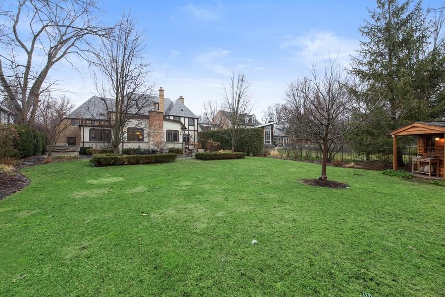 Real Estate Photography - 1200 Spruce, Winnetka, IL, 60093 - Rear View