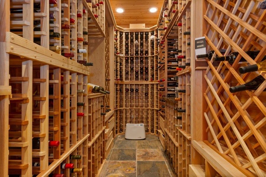 Real Estate Photography - 2309 N. Janssen Ave., Chicago, IL, 60614 - Wine Cellar
