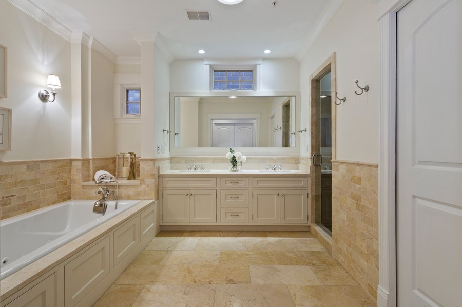 Real Estate Photography - 2309 N. Janssen Ave., Chicago, IL, 60614 - Master Bathroom