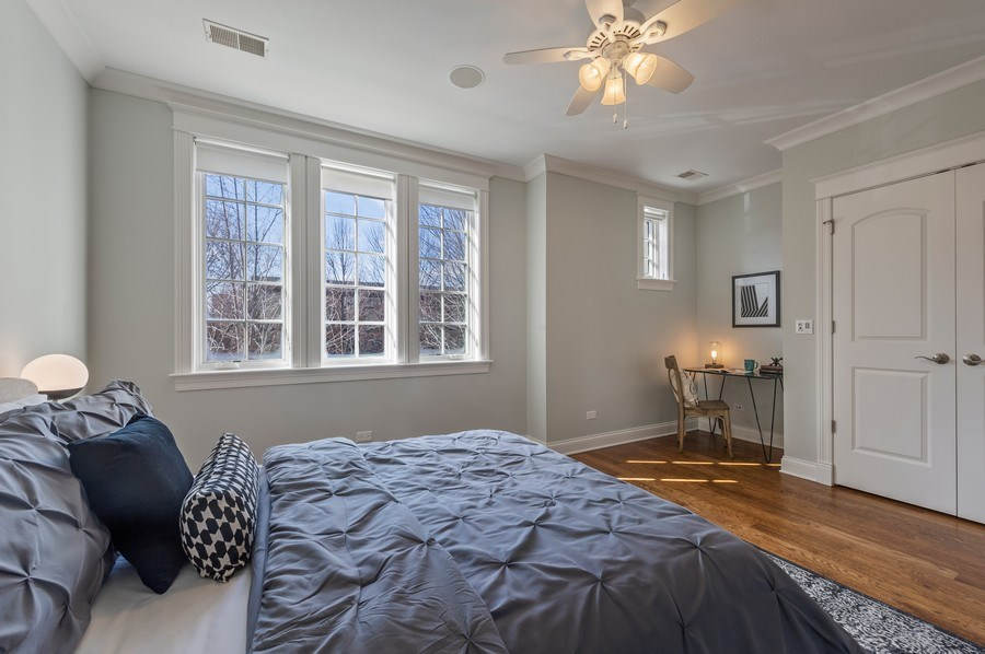 Real Estate Photography - 2309 N. Janssen Ave., Chicago, IL, 60614 - 2nd Bedroom