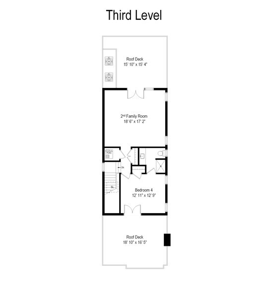 Real Estate Photography - 2309 N. Janssen Ave., Chicago, IL, 60614 - Floor Plan