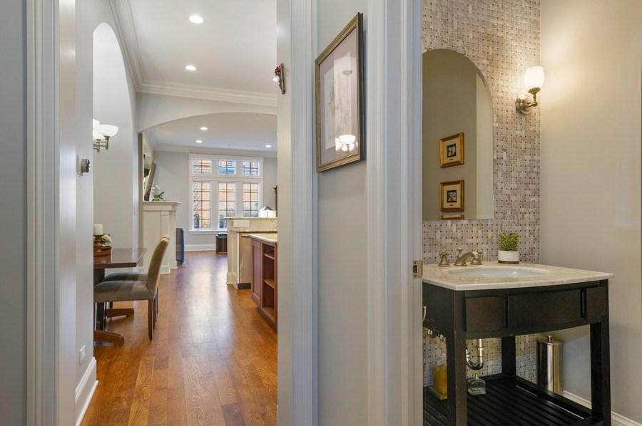 Real Estate Photography - 2309 N. Janssen Ave., Chicago, IL, 60614 - Half Bath