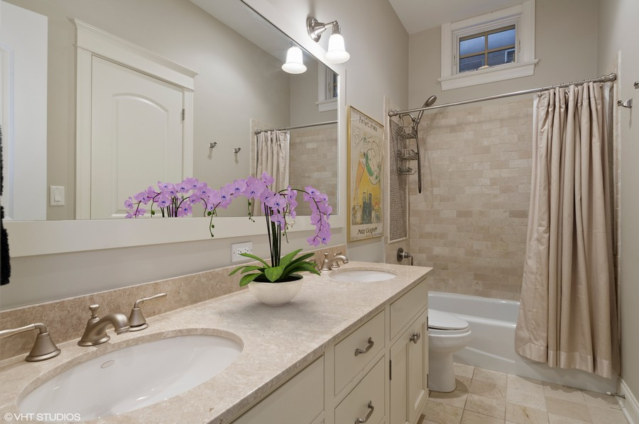 Real Estate Photography - 2309 N. Janssen Ave., Chicago, IL, 60614 - 4th Bathroom