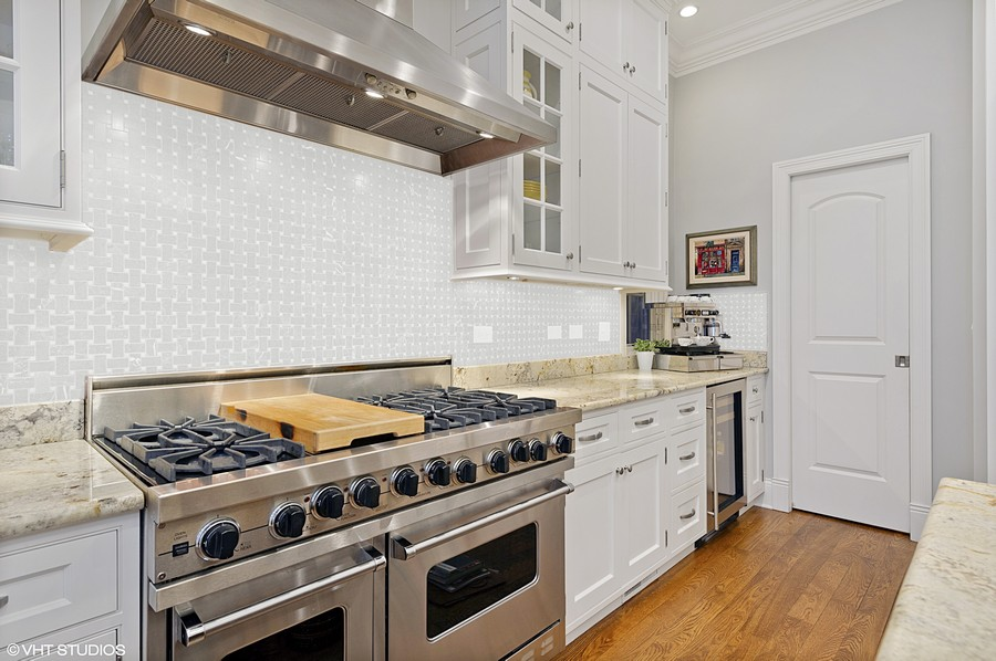 Real Estate Photography - 2309 N. Janssen Ave., Chicago, IL, 60614 - Kitchen with pantry
