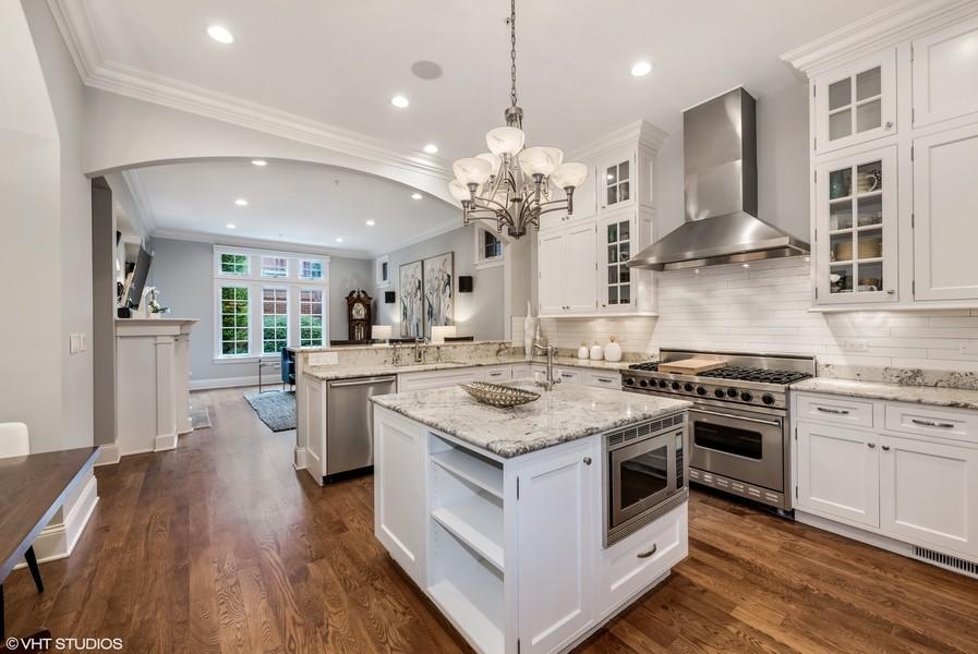 Real Estate Photography - 2309 N. Janssen Ave., Chicago, IL, 60614 - Kitchen