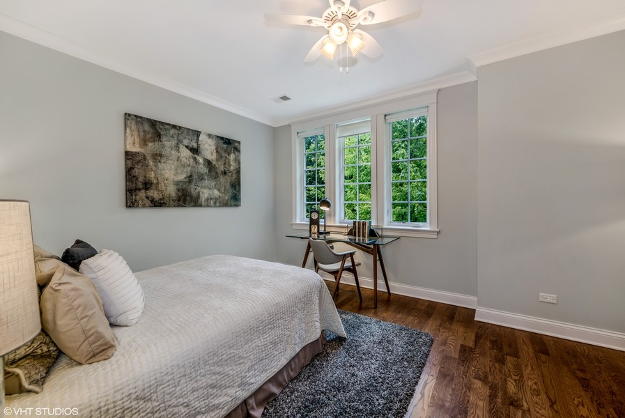 Real Estate Photography - 2309 N. Janssen Ave., Chicago, IL, 60614 - Second Bedroom