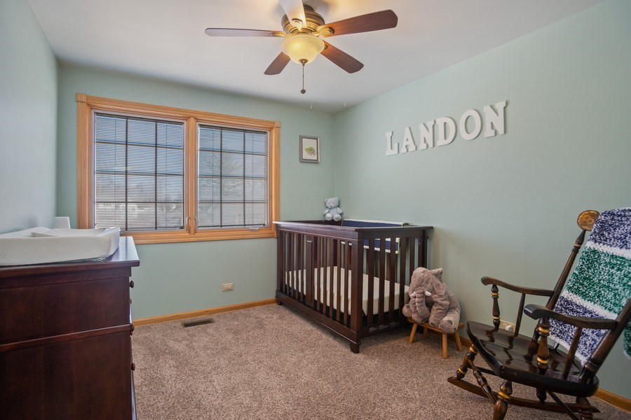 Real Estate Photography - 1711 S Milbrook Ln, Arlington Heights, IL, 60005 - 3rd Bedroom