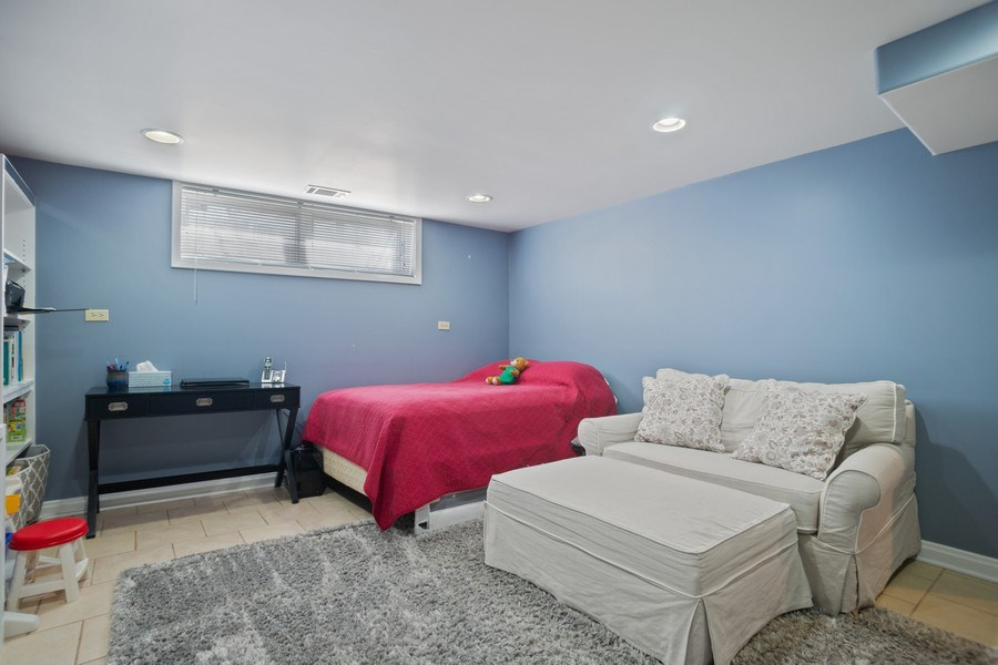Real Estate Photography - 1711 S Milbrook Ln, Arlington Heights, IL, 60005 - 4th Bedroom Lower Level