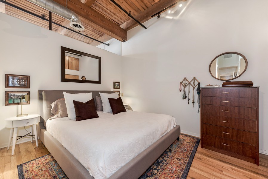 Real Estate Photography - 1259 N Wood St, 206, Chicago, IL, 60622 - Master Bedroom