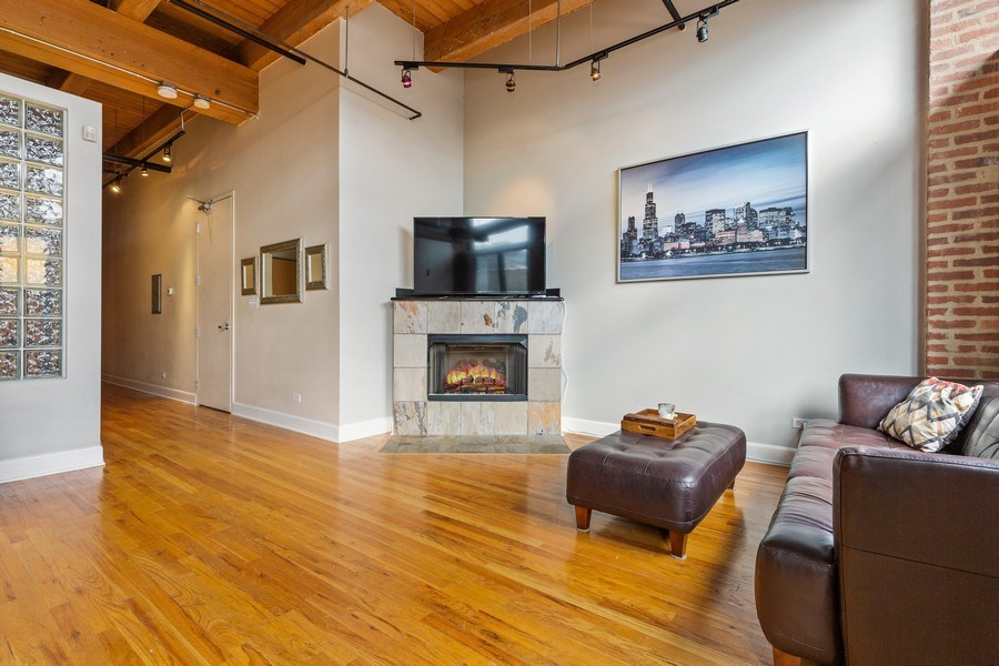Real Estate Photography - 2735 W. Armitage, Unit 207, Chicago, IL, 60622 - Living Room