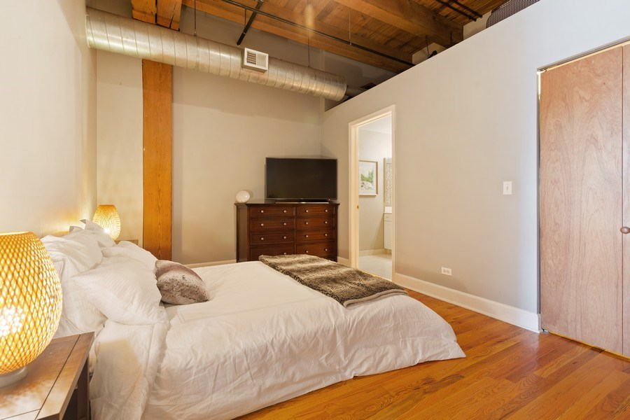 Real Estate Photography - 2735 W. Armitage, Unit 207, Chicago, IL, 60622 - Master Bedroom