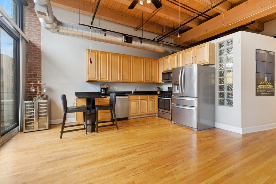 Real Estate Photography - 2735 W. Armitage, Unit 207, Chicago, IL, 60622 - Kitchen