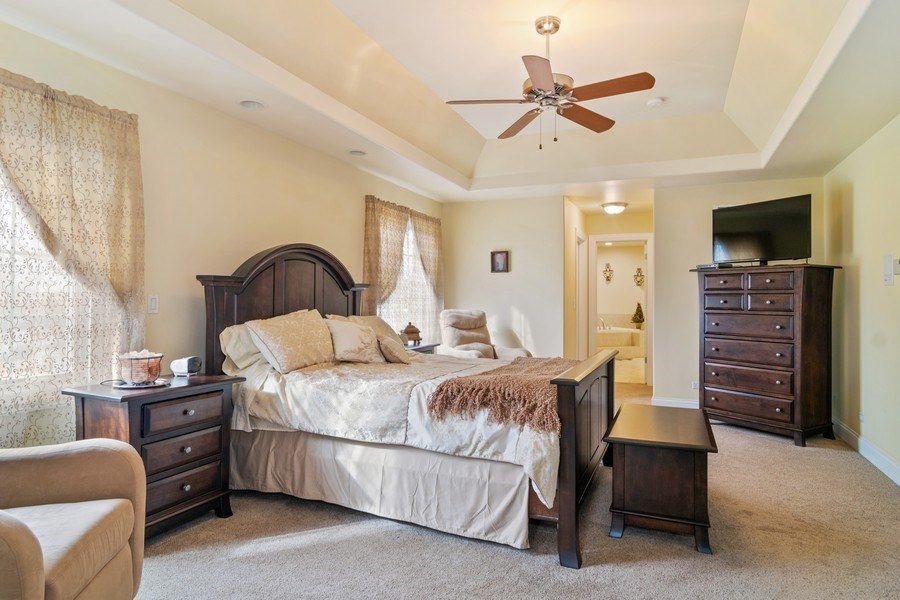 Real Estate Photography - 876 Cambridge, Elmhurst, IL, 60126 - Master Bedroom
