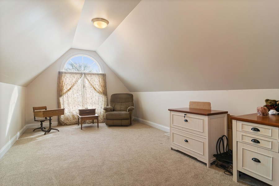 Real Estate Photography - 876 Cambridge, Elmhurst, IL, 60126 - Sitting Room part of Master Suite