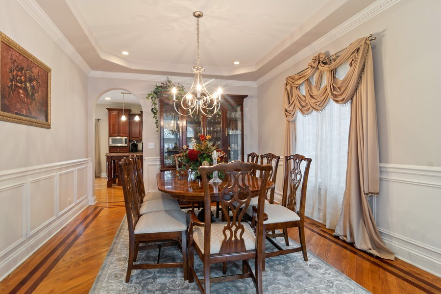 Real Estate Photography - 876 Cambridge, Elmhurst, IL, 60126 - Dining Room