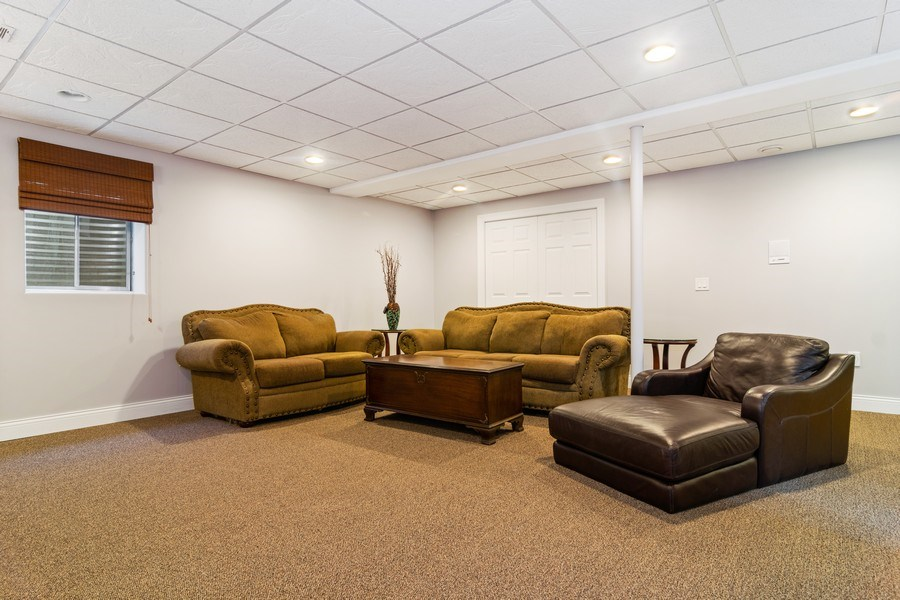 Real Estate Photography - 876 Cambridge, Elmhurst, IL, 60126 - Recreation Room