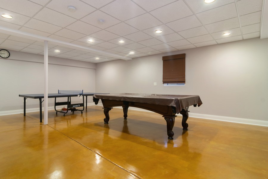 Real Estate Photography - 876 Cambridge, Elmhurst, IL, 60126 - Game Room