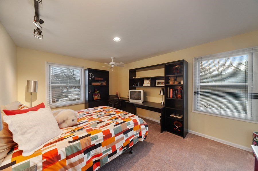 Real Estate Photography - 1356 Rosewood Ave, Deerfield, IL, 60015 - 3rd Bedroom