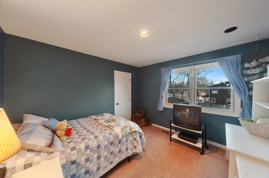 Real Estate Photography - 1356 Rosewood Ave, Deerfield, IL, 60015 - 4th Bedroom