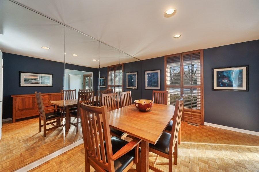 Real Estate Photography - 1356 Rosewood Ave, Deerfield, IL, 60015 - Dining Room