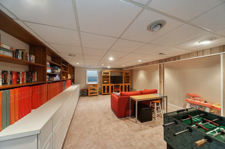 Real Estate Photography - 1356 Rosewood Ave, Deerfield, IL, 60015 - Basement