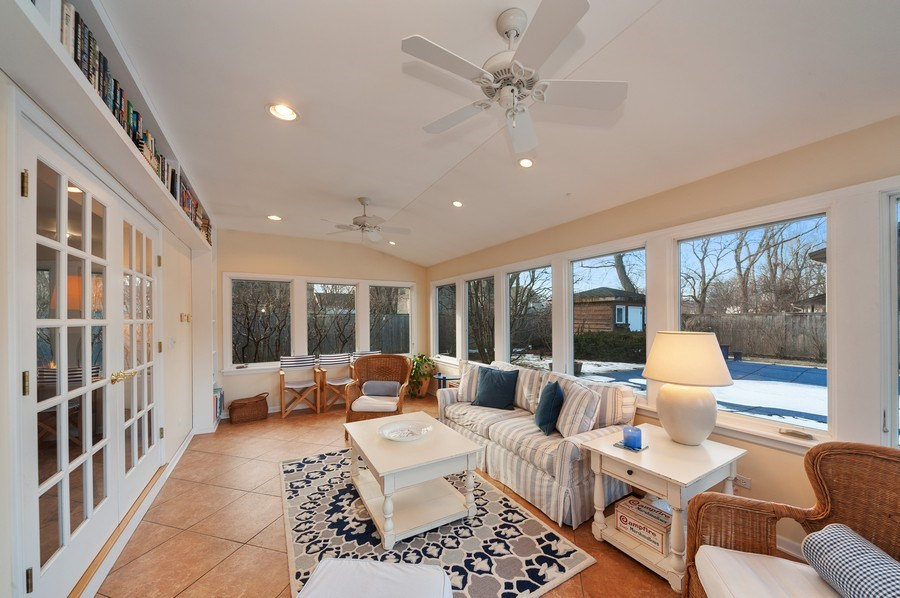 Real Estate Photography - 1356 Rosewood Ave, Deerfield, IL, 60015 - Porch