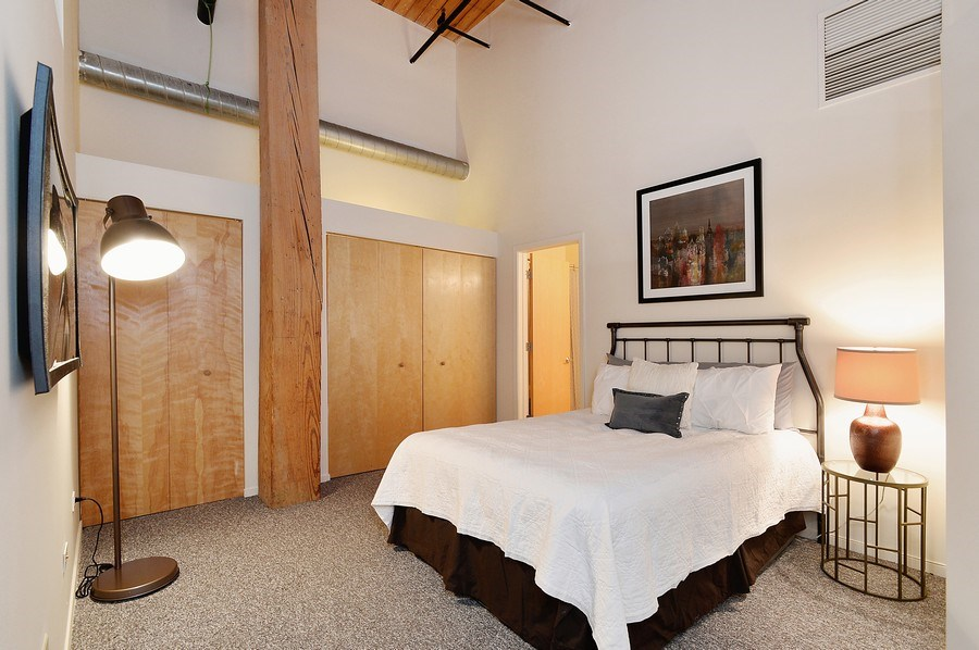 Real Estate Photography - 1935 N. Fairfield, #104, Chicago, IL, 60647 - Master Bedroom