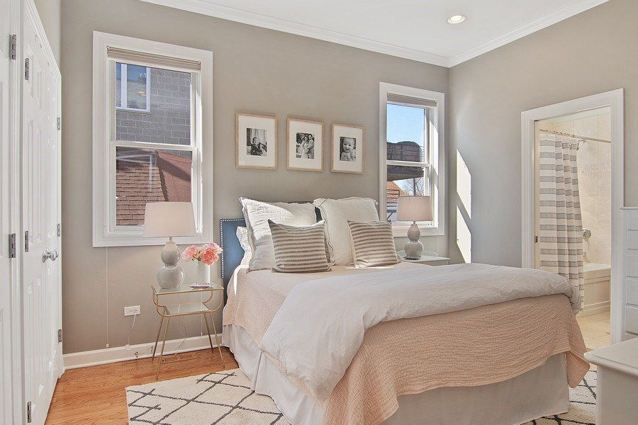 Real Estate Photography - 1846 W Armitage, Unit 2W, Chicago, IL, 60622 - Master Bedroom