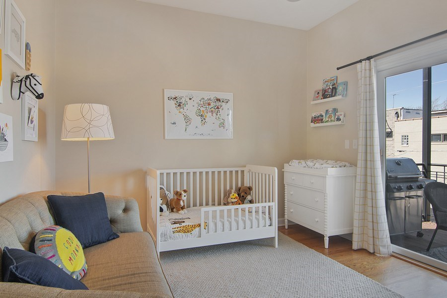 Real Estate Photography - 1846 W Armitage, Unit 2W, Chicago, IL, 60622 - Bedroom