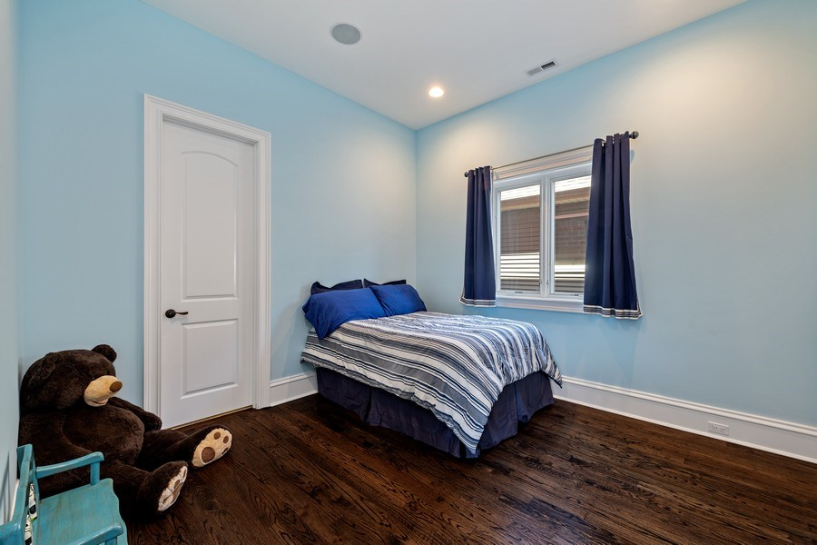 Real Estate Photography - 1921 W George, Chicago, IL, 60618 - 3rd Bedroom