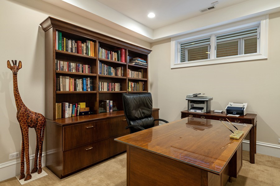 Real Estate Photography - 1921 W George, Chicago, IL, 60618 - Office